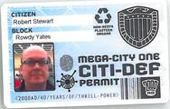 Planet Replicas City-Def ID Card.