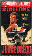 Judge Dredd 1995 VHS USA Edition