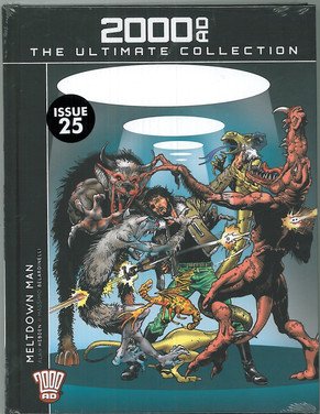 2000ad The Ultimate Collection: Meltdown Man