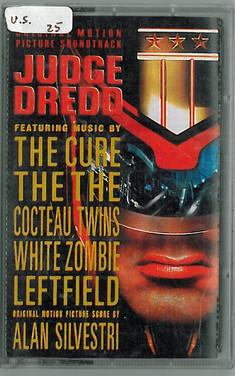 Judge Dredd 1995 Soundtrack Cassette