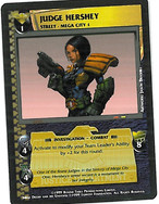 Dredd CCG: Judges - Judge Hershey