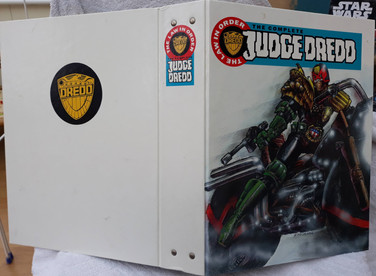 The Complette Judge Dredd Folder