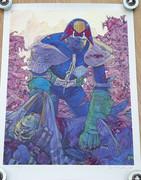 Tom Frame: Brendan McCarthy Judge Dredd Print