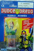Judge Dredd with Lawgiver Bubble Buddies