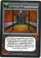 Dredd CCG: Scenes - Abandoned Subway Station