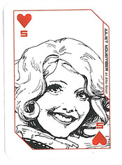 Playing Cards Megazine: Five of Hearts