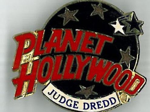 Planet Hollywood Judge Dredd Badge