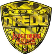 DC Comics Judge Dredd Promo Sticker