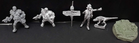 Misc: Judge Minty Promo Miniatures