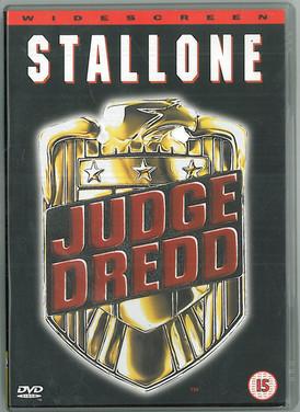 Judge Dredd 1995 DVD Widescreen