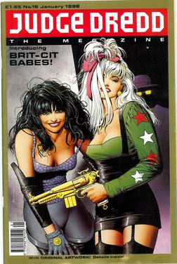 Judge Dredd Megazine Vol 1 Number 16