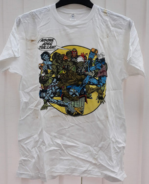 "Judge Dredd ""No-one Apes The Law"" T-Shirt"