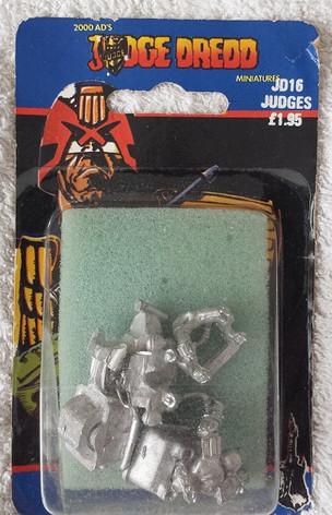 Citadel Blister Judge Dredd: JD16 Judges