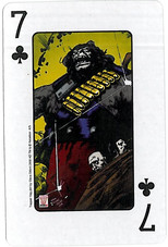 Playing Cards SFX: Seven of Clubs