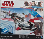 Resistance Ski Speeder with Captain Poe Dameron