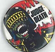 Judge Death Badge Eighties