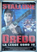 Judge Dredd 1995 Movie Poster