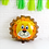 Thumbnail: 1pcs 55cm x 55cm Lion Foil Balloon with 8pcs Standard Balloons