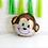 Thumbnail: 1pcs 53cm x 60cm Monkey Foil Balloon with 8pcs Standard Balloons