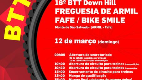 Down Hill: Armil na abertura do campeonato do Minho este domingo