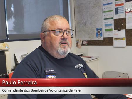 Comandante dos BV Fafe teve alta hospitalar.