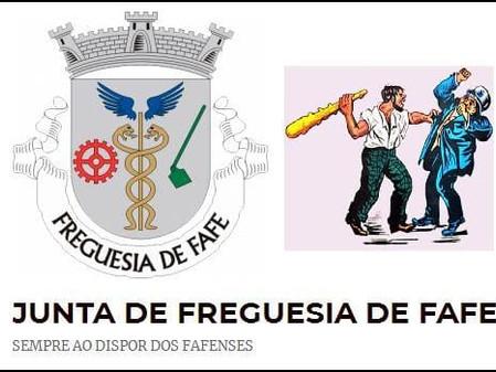 "Junta de Fafe: ""Porta fechada mas a trabalhar""."