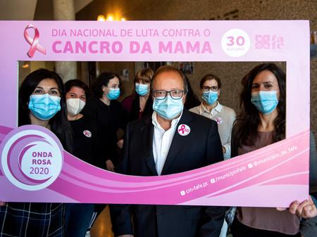 Município de Fafe assinala Dia Internacional da Prevenção do Cancro de Mama.