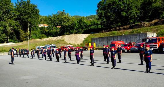 Vieira do Minho com nova escola de bombeiros.