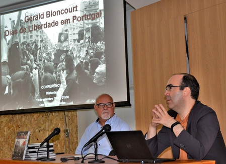 Daniel Bastos homenageou Gérald Bloncourt no Festival INstantes.
