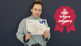 S.H.R Scheme January Winner - Ellie Ward