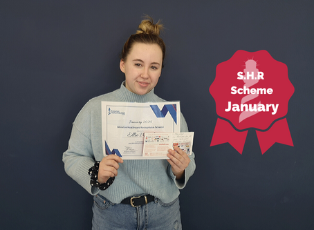 S.H.R Scheme January Winner - Ellie Ward