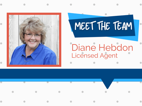Meet the Team – Diane Hebdon