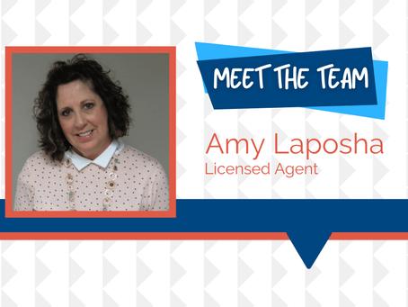 Meet the Team - Amy Laposha