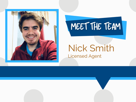 Meet the Team - Nick Smith