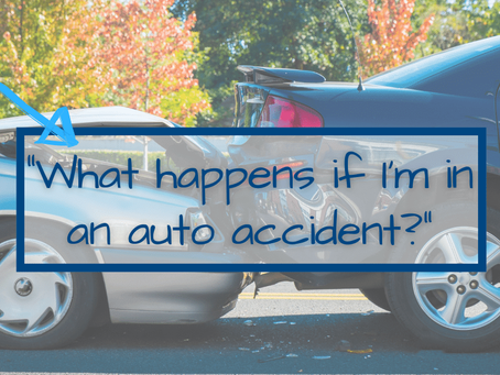 Auto Insurance and Accidents:  2 Common Questions