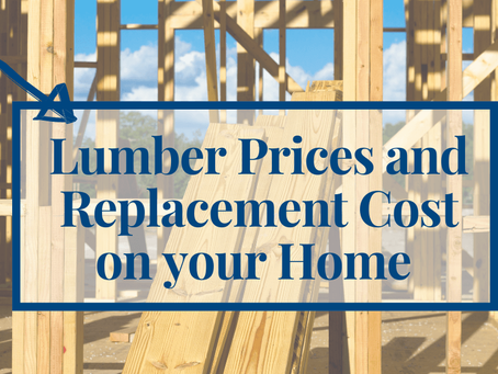 Lumber Prices and Replacement Cost on your Home