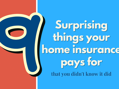 9 Surprising things your home insurance pays for that you didn't know it did