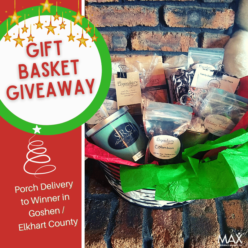 Goshen and Elkhart County Holiday Gift Basket Giveaway