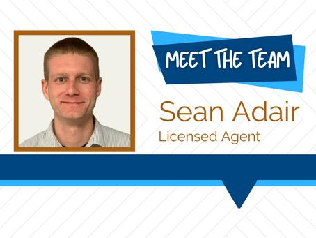 Meet the Team - Sean Adair
