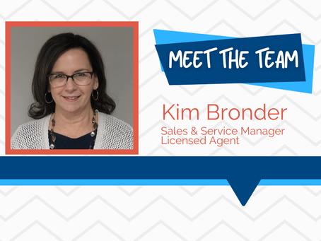 Meet the Team - Kim Bronder