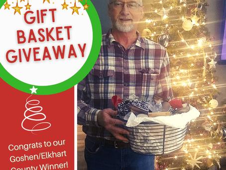 Goshen Holiday Gift Basket Giveaway on our Facebook Page