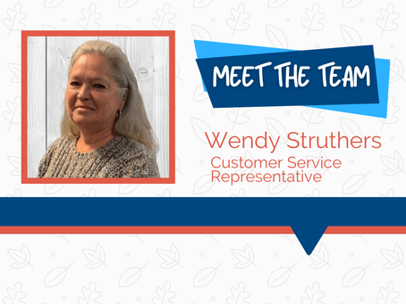 Meet the Team - Wendy Struthers