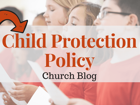 Child Protection Policy for Churches