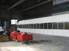 uffici con pareti mobili