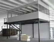 Soppalco con box ufficio