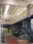 Soppalco con pareti divisorie a Poirino Torino