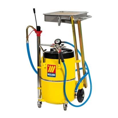 Meclube imuvaihtaja /öljynkerääjä nostettavalla altaalla 65L