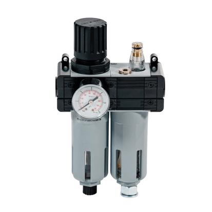 Meclube paineensäädin vedenerottimella, mittarilla ja öljystimellä F 1/4'