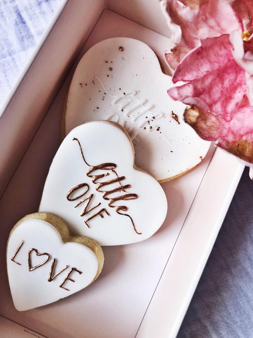 Biscuits personnalisés naissance