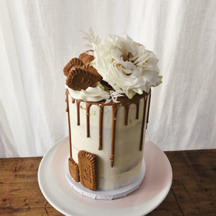 Speculos birthday cake